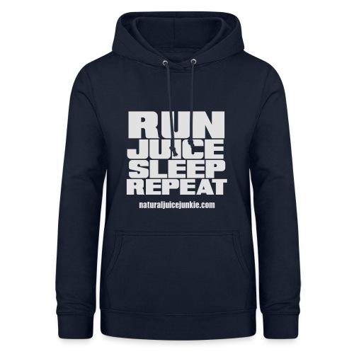 Mens Run Juice Sleep Repeat - Women's Hoodie