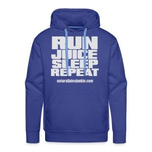 Mens Run Juice Sleep Repeat - Men's Premium Hoodie