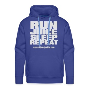 Mens Run Juice Sleep Repeat - Men's Premium Hoodie