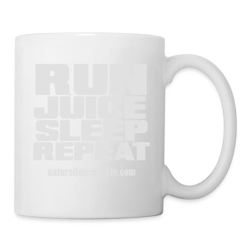 Mens Run Juice Sleep Repeat - Mug