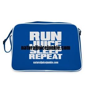 Mens Run Juice Sleep Repeat - Retro Bag
