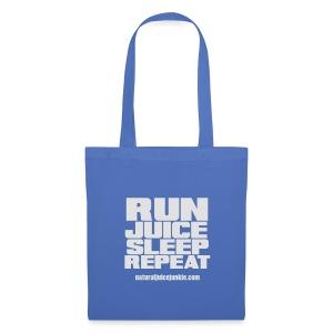 Mens Run Juice Sleep Repeat - Tote Bag