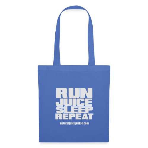 Mens Run Juice Sleep Repeat - Tote Bag
