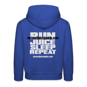 Mens Run Juice Sleep Repeat - Kids' Premium Hoodie
