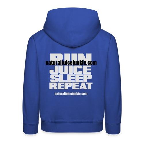 Mens Run Juice Sleep Repeat - Kids' Premium Hoodie