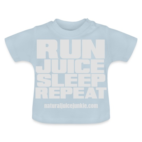 Mens Run Juice Sleep Repeat - Baby T-Shirt
