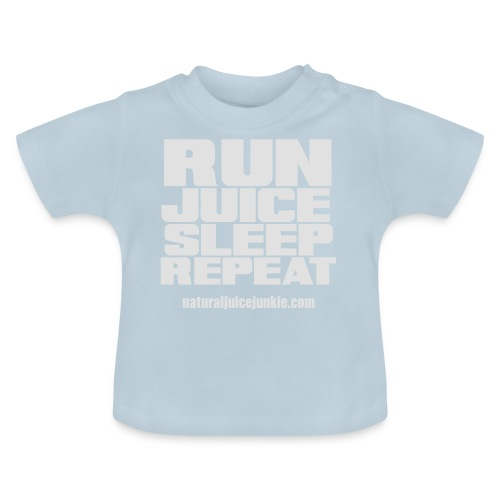 Mens Run Juice Sleep Repeat - Baby T-Shirt