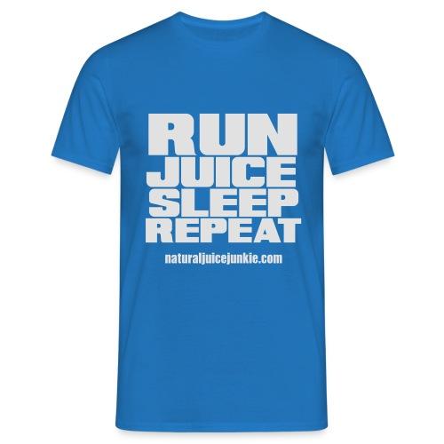 Mens Run Juice Sleep Repeat - Men's T-Shirt
