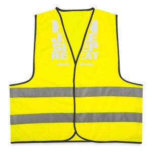 Mens Run Juice Sleep Repeat - Reflective Vest