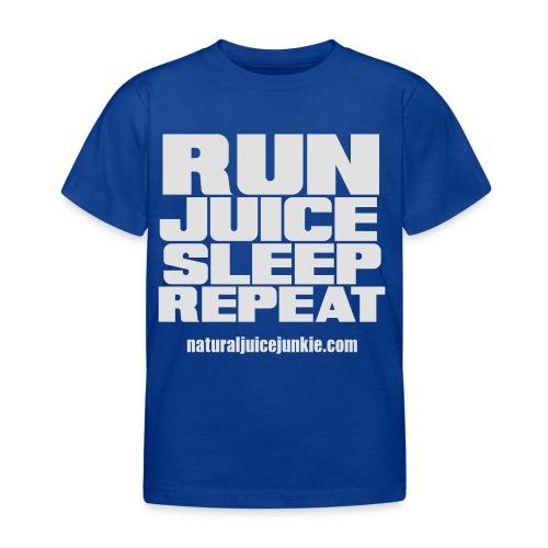 Mens Run Juice Sleep Repeat - Kids' T-Shirt