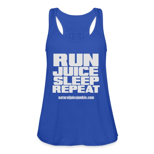 Mens Run Juice Sleep Repeat - Women's Tank Top by Bella
