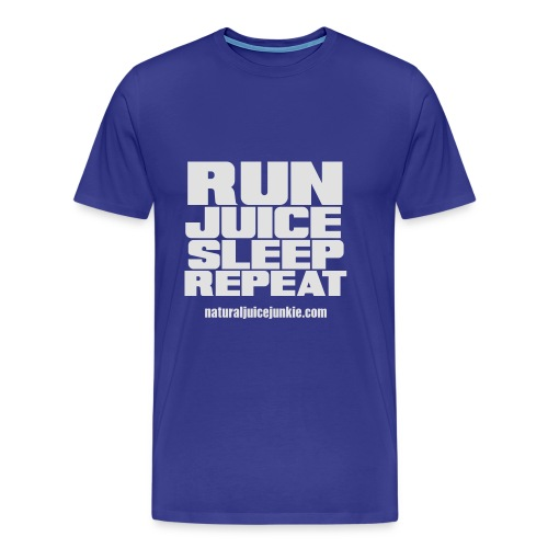 Mens Run Juice Sleep Repeat - Men's Premium T-Shirt