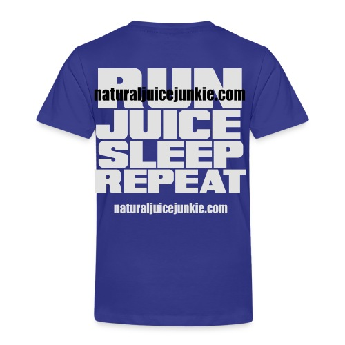 Mens Run Juice Sleep Repeat - Kids' Premium T-Shirt