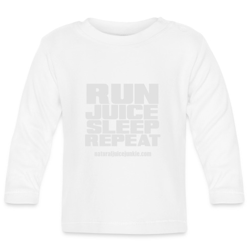 Mens Run Juice Sleep Repeat - Baby Long Sleeve T-Shirt