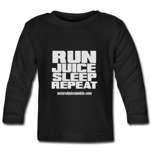 Mens Run Juice Sleep Repeat - Baby Long Sleeve T-Shirt