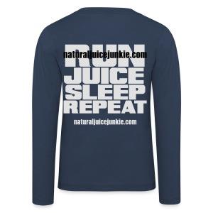 Mens Run Juice Sleep Repeat - Kids' Premium Longsleeve Shirt