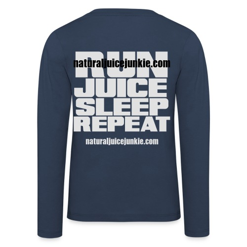 Mens Run Juice Sleep Repeat - Kids' Premium Longsleeve Shirt