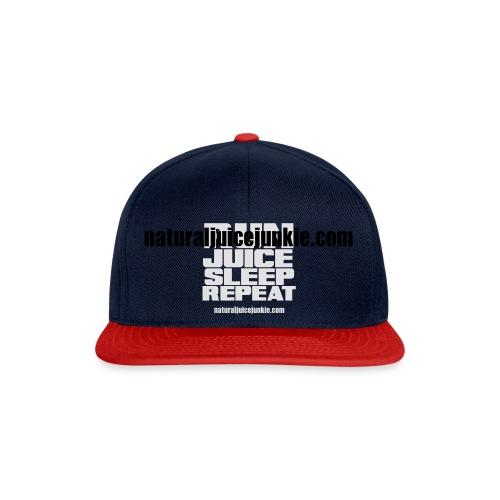 Mens Run Juice Sleep Repeat - Snapback Cap