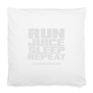 Mens Run Juice Sleep Repeat - Pillowcase 40 x 40 cm