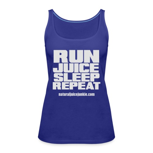 Mens Run Juice Sleep Repeat - Women's Premium Tank Top