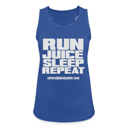 Mens Run Juice Sleep Repeat - Women's Breathable Tank Top