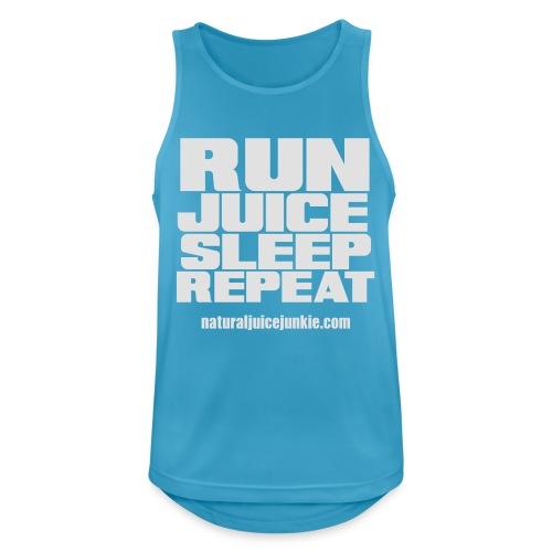 Mens Run Juice Sleep Repeat - Men's Breathable Tank Top