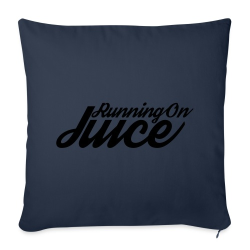 Womens Running on Juice - Sofa pillow cover 44 x 44 cm
