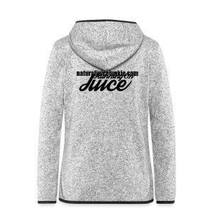 Womens Running on Juice - Women's Hooded Fleece Jacket
