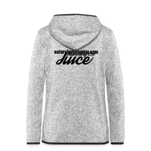 Womens Running on Juice - Women's Hooded Fleece Jacket