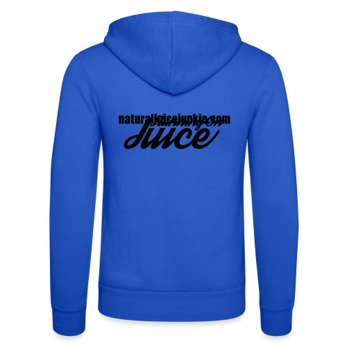 Womens Running on Juice - Unisex Hooded Jacket by Bella + Canvas