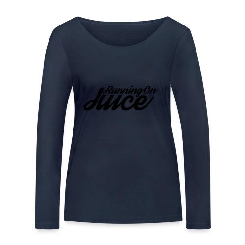 Womens Running on Juice - Women's Organic Longsleeve Shirt by Stanley & Stella
