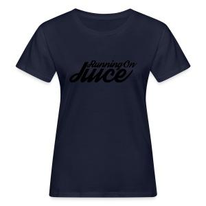 Womens Running on Juice - Women's Organic T-shirt