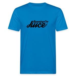 Womens Running on Juice - Men's Organic T-shirt