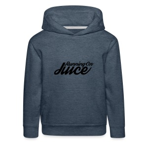 Womens Running on Juice - Kids' Premium Hoodie