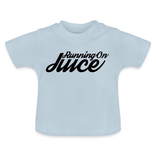 Womens Running on Juice - Baby T-Shirt