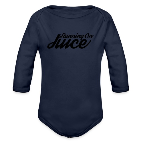 Womens Running on Juice - Organic Longsleeve Baby Bodysuit