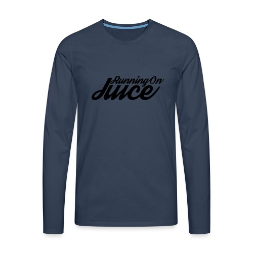 Womens Running on Juice - Men's Premium Longsleeve Shirt