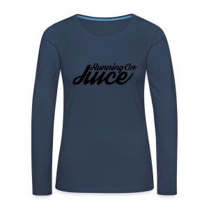 Womens Running on Juice - Women's Premium Longsleeve Shirt