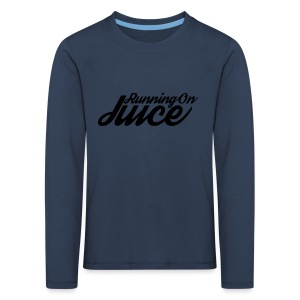 Womens Running on Juice - Kids' Premium Longsleeve Shirt
