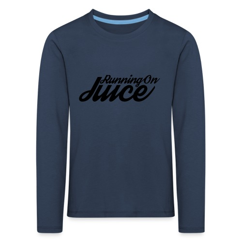 Womens Running on Juice - Kids' Premium Longsleeve Shirt