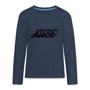 Womens Running on Juice - Teenagers' Premium Longsleeve Shirt