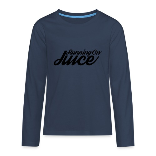 Womens Running on Juice - Teenagers' Premium Longsleeve Shirt