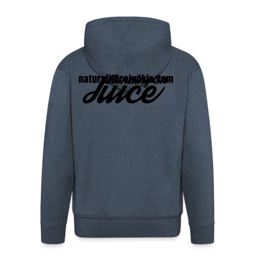 Womens Running on Juice - Men's Premium Hooded Jacket
