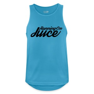 Womens Running on Juice - Men's Breathable Tank Top