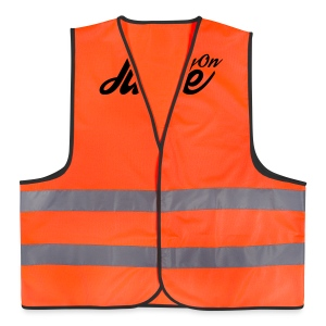 Mens Running on Juice - Reflective Vest