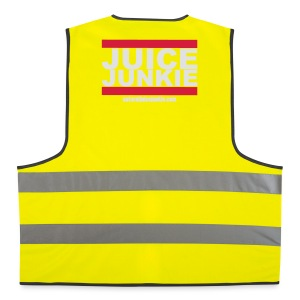 Mens Track Jacket (Old School) - Reflective Vest