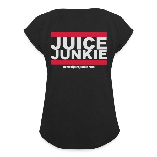 Mens Track Jacket (Old School) - Women's T-shirt with rolled up sleeves