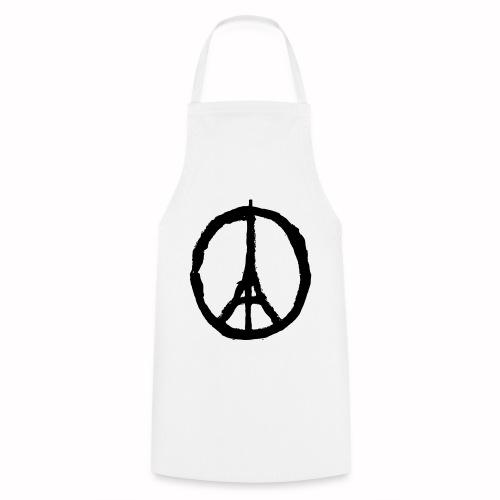 T-Shirt Blanc Homme Paris Peace - Tablier de cuisine