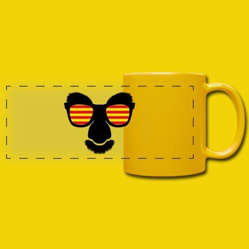 Catalan Mask Mug - Full Color Panoramic Mug