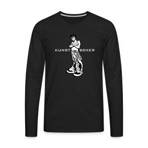Kunstboxer - Männer Premium Langarmshirt